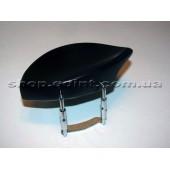 Подбородник для скрипки Teka из черного дерева.
