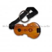 Защита для пола в форме виолончели.