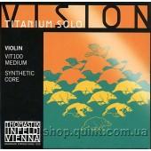 Комплект струн для скрипки Thomastik Vision Titanium Solo.